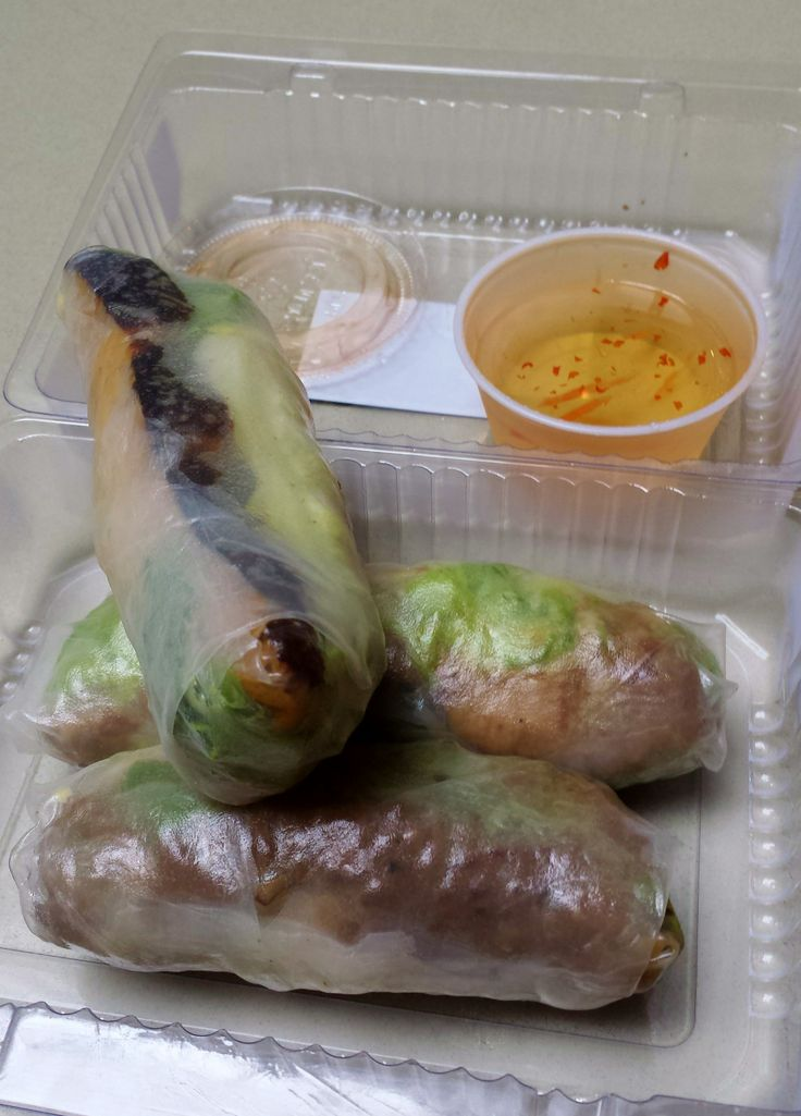 Truly enjoyed their takeout boxes of assorted summer rolls. So full of flavour. My favourite was the grilled beef.