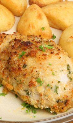 Melt in Your Mouth Baked Garlic Parmesan Chicken Recipe - 7 Weight Watchers SmartPoints