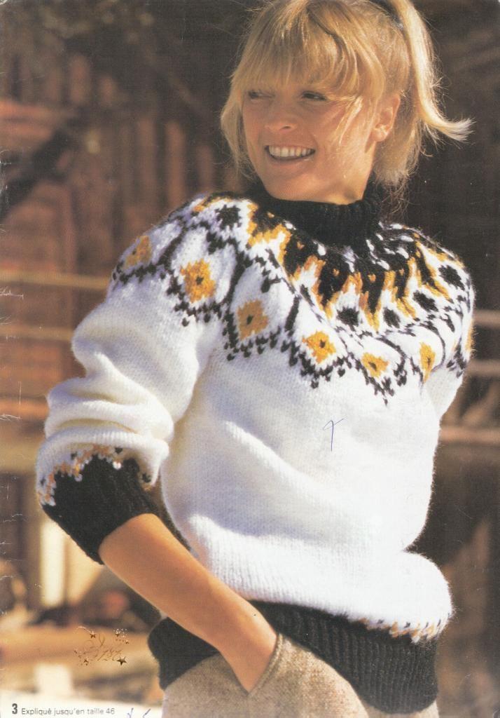 17 meilleures id es propos de pull jacquard femme sur pinterest tricot jacquard pull. Black Bedroom Furniture Sets. Home Design Ideas