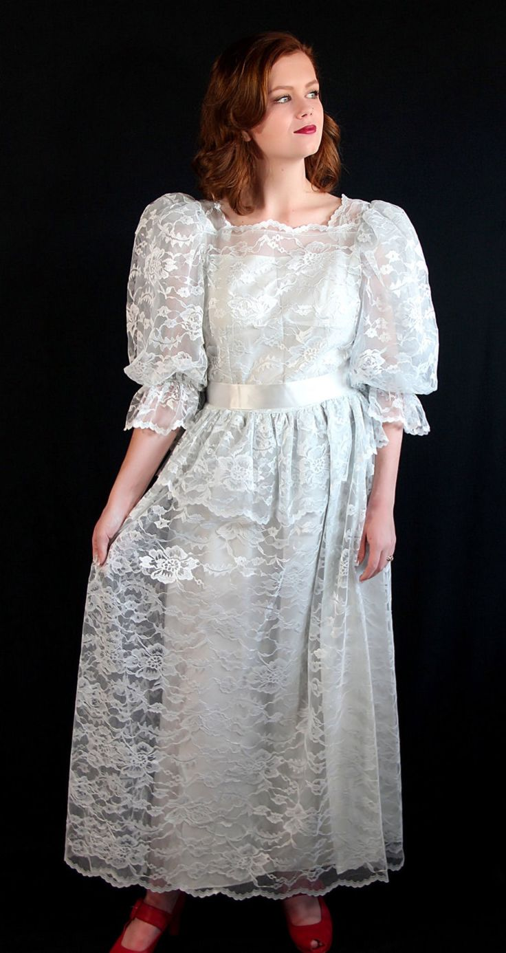 92 best wedding 80s images on pinterest bridesmaid dress bridal southern belle dress peplum cachet deadstock vintage wedding 80s by petticoatsplus ombrellifo Images