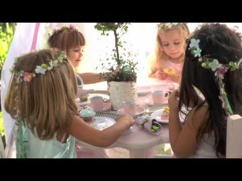 Hosting a fairy themed birthday party for your precious little daughter is a great idea. Little girls are fascinated by the magical charm of fairies; you can also dress her like one on her birthday. In this Pottery Barn Kids video, stylist Kelli Ronci demonstrates how to make a beautiful flower fairy crown for your little one. For preparing a fl...