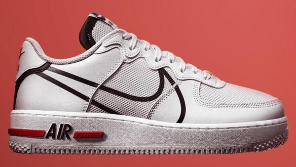 Nike Introduces New Air Force 1 Low With React Cushioning