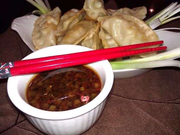 Pot Sticker Dipping Sauce from Food.com: Really yummy pot sticker ...