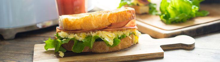 Идея завтрака: сэндвич с ветчиной и яйцами - Andy Chef - блог о еде и путешествиях, пошаговые рецепты, интернет-магазин для кондитеров