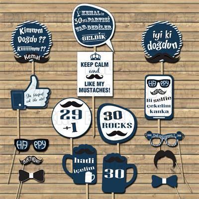 30 Yaş Doğum Günü Partisi Fikirleri - Konuşma Balonları
