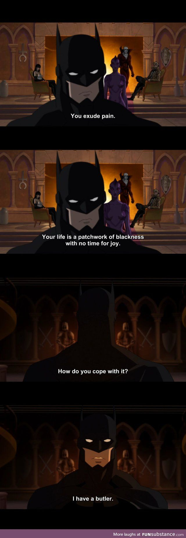 Batman being Batman