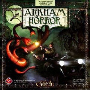 Arkham Horror game - cheat sheets and info