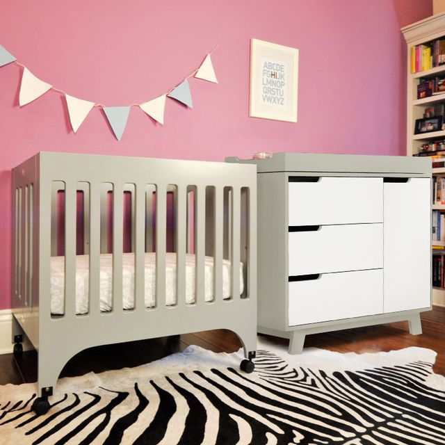 7 small cribs for small nurseries - http://nursery.about.com/