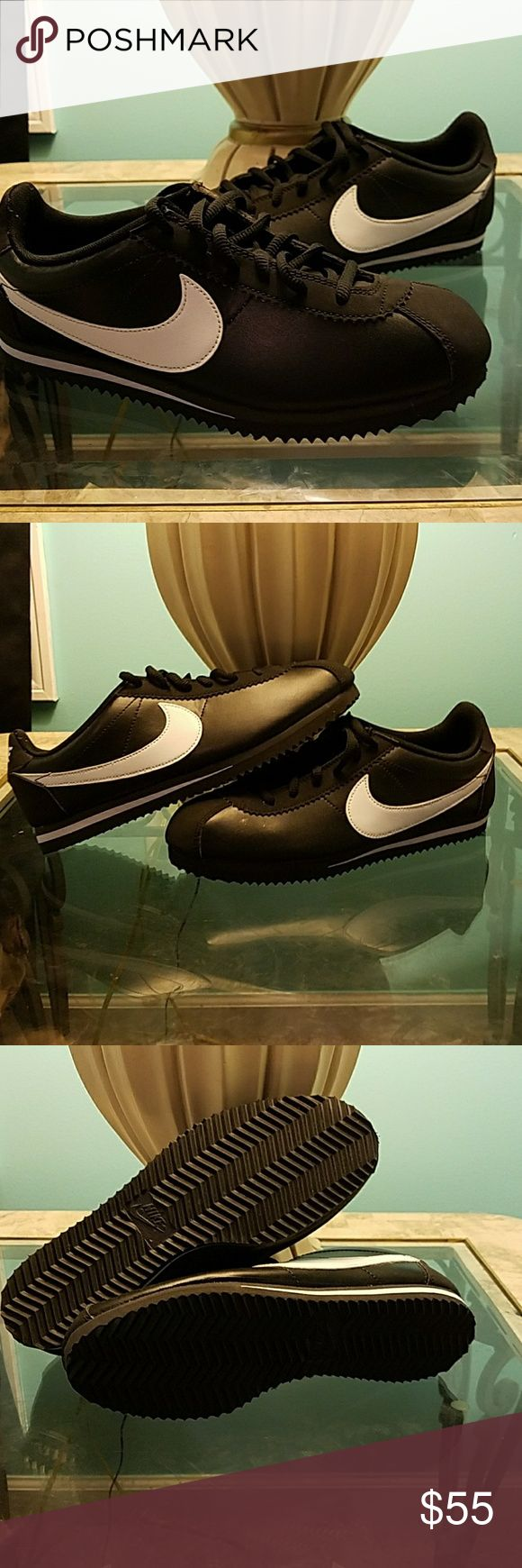 Nike Cortez Black and white Nike Cortez. Brand new! Nike Shoes Sneakers