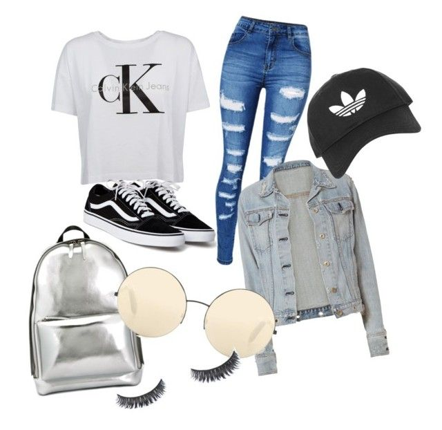 """Blå mandag"" by grekke on Polyvore featuring Calvin Klein, WithChic, 3.1 Phillip Lim, rag & bone, Victoria Beckham and Topshop"