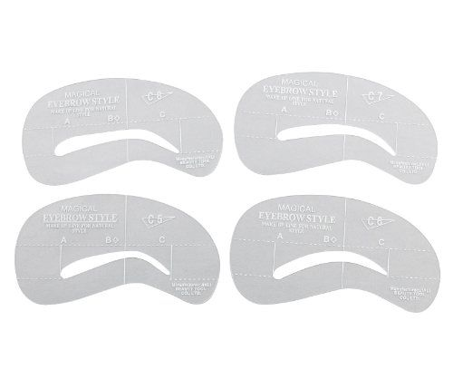 Printable Eyebrow Stencil Template