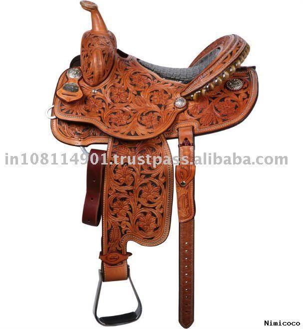 western saddles | Keywords: Hand Carved Western Saddles Western Horse Saddle