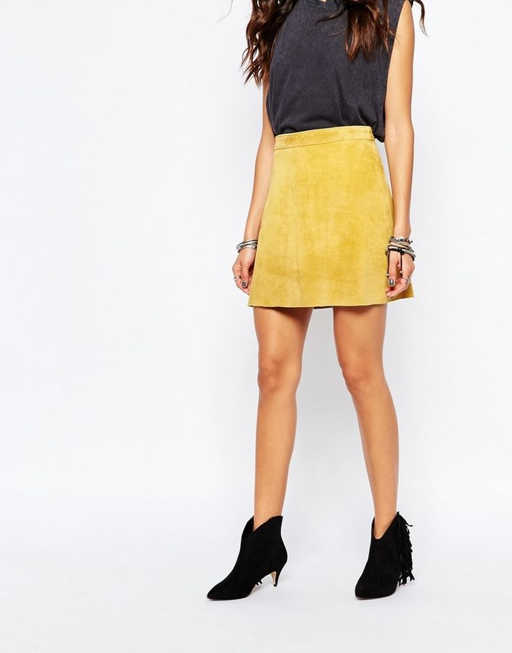 How to Clean Suede Skirts Without Actually Washing Them, Because That's A No-No