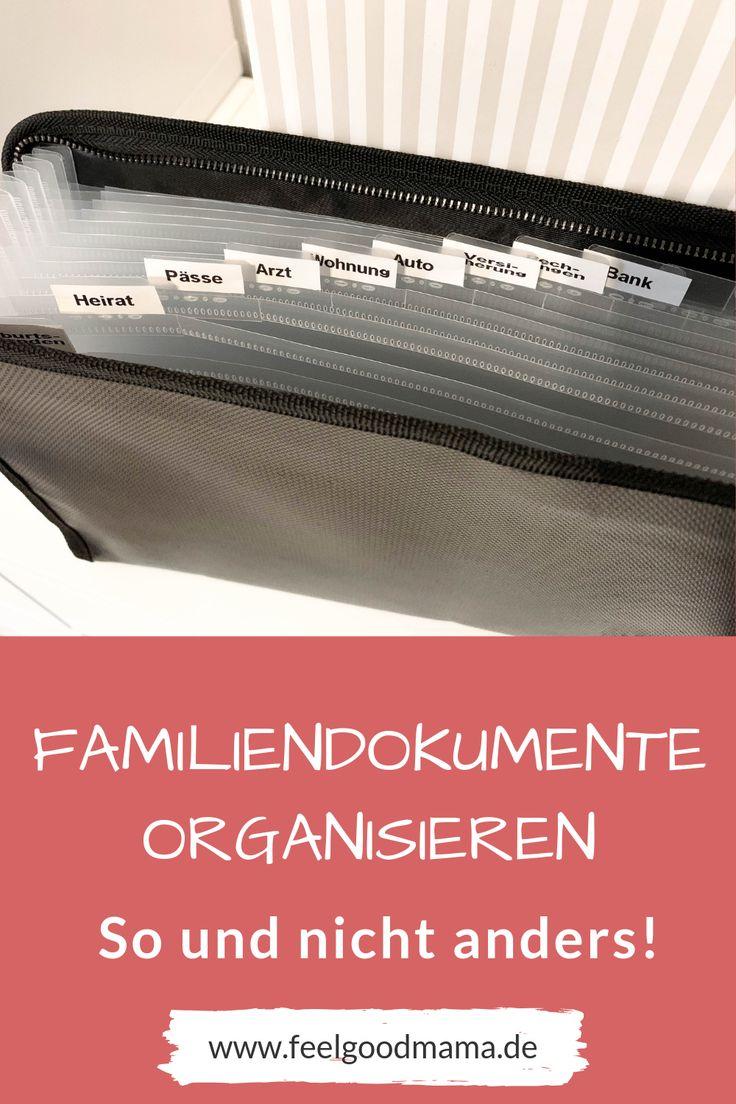 Familiendokumente organisieren mit System