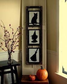 Very cute halloween silhouettes