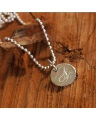 Palas Jewellery Silver Letter Charms