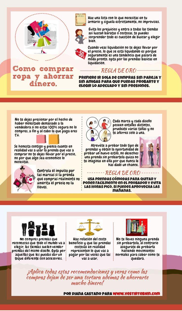 PRACTICOS PASOS PARA COMPRAR ROPA Y AHORRAR DINERO