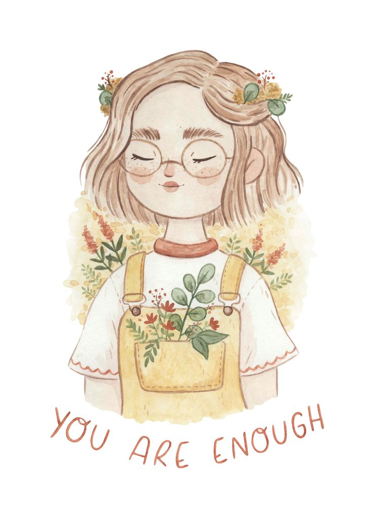 You Are Enough - Art Print