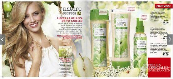 Son productos 100% garantizados... Oriflame combina lo mejor de la ciencia con lo mejor de la naturaleza...