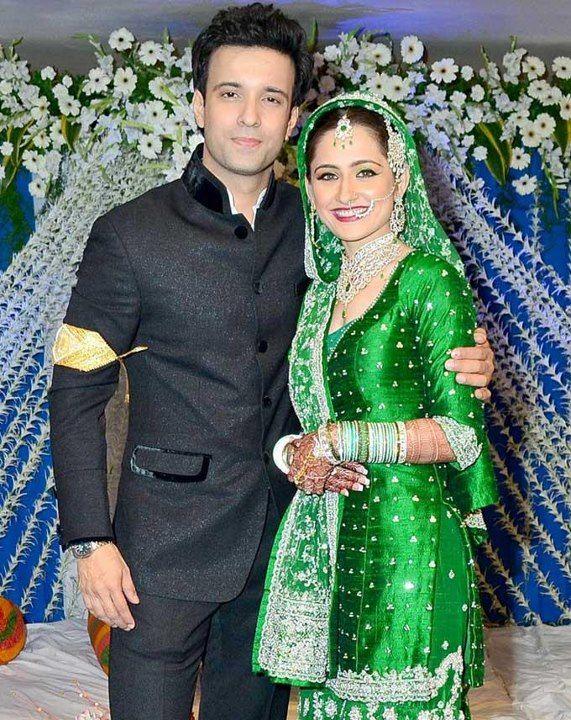 Aamir Ali & Sanjeeda Sheikh wedding