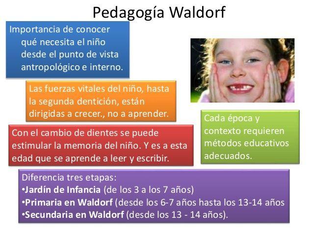 La pedagogía Waldorf, un tipo de pedagogía alternativa