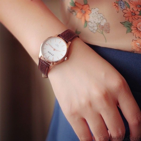 Wow~ Awesome Retro Disc Leather Belt Students Brief Design Watches ! It only $28.99 at www.AtWish.com! I like it so much<3<3!