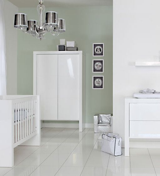 Kidsmill Diamond White Nursery Furniture Roomset - modern, minimalist and high gloss nursery design. £1,464.30  http://www.cruxbaby.co.uk/shop/luxury-furniture-sets-nursery-furniture-sets/kidsmill-diamond-modern-white-nursery-furniture-roomset-3/