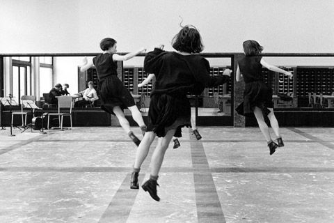 Dancing or flying  Fairy or Witch  Who care?    picture from Anne Teresa De Keersmaeker