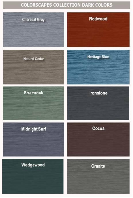 Royal building pinteres for Best vinyl siding colors