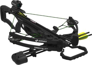 BARNETT OUTDOORS LLC 16 Recruit Compound Crossbow Package w/Red Dot Scope, EA