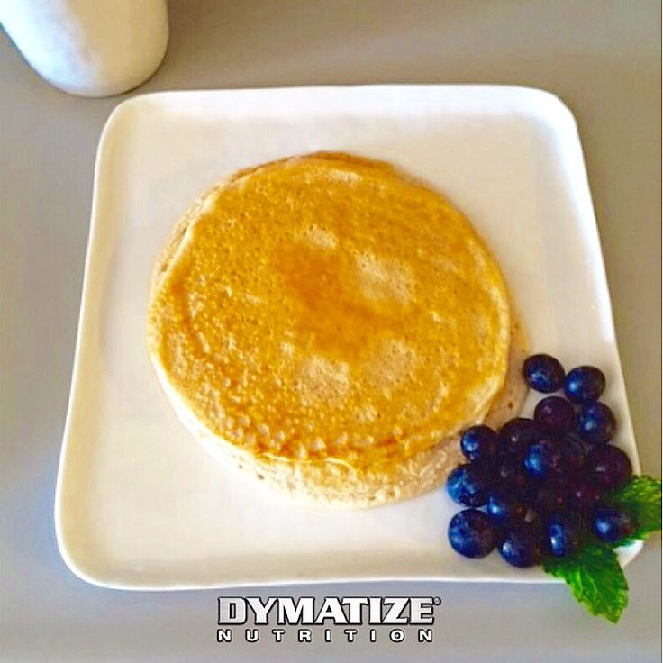 Dymatize ISO-100 Cinnamon Bun Protein Pancakes   Ingredients:  ½ cup raw oats (I use Quaker Quick Oats) ½ cup almond milk (I use Almond Breeze) 1 tablespoon of coconut oil or olive oil (spray or oil) 1 scoop of Dymatize ISO-100 Cinnamon Bun or flavor of your choose  Preparation: Blend all ingredients together. Place stove on medium heat and add a little coconut oil or olive oil spray to the pan. Flip when bubbles appear. Makes 2 pancakes    #Make #Enjoy #Share! #Dymatizekitchen…