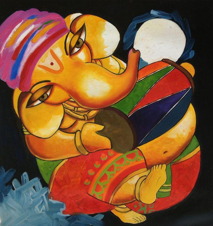 196 best Vinayaka images on Pinterest | Ganesha painting, Lord ...