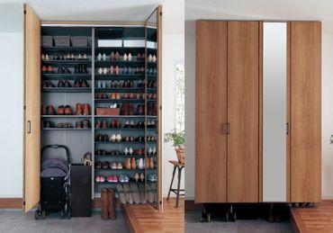 玄関用収納 | 住まいの常識を、新しく | 住まいの設備と建材 | Panasonic