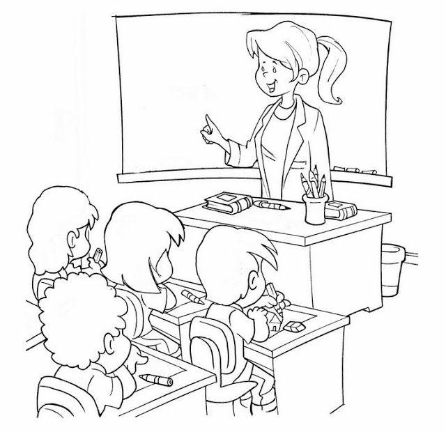 картинки раскраски учитель у доски сможете