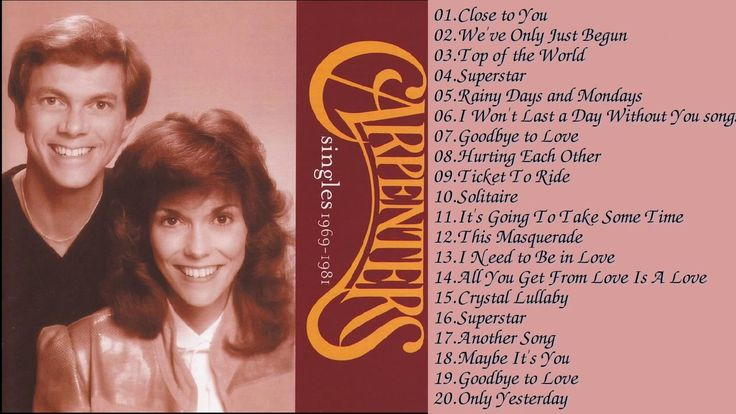 The Carpenters Greatest Hits - The Best Of The Carpenters Songs 2017