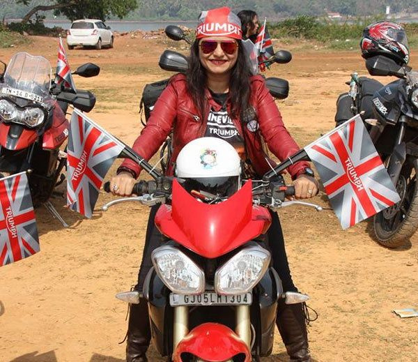 ‪#‎BikingQueens‬ Four biking queens from surat will go to singapore on motorcycle. DiamondRummy wishing you Happy and Safe Journey.  --> Four female bikers from 'Biking Queen Group' in Surat will travel to Singapore via seven other countries through 15,000 km route.  The 40-day long journey which is likely to kick off in June will cover Nepal, Bhutan, Myanmar, Thailand, Cambodia, Vietnam and Malaysia beside India and Singapore.#DiamondRummy