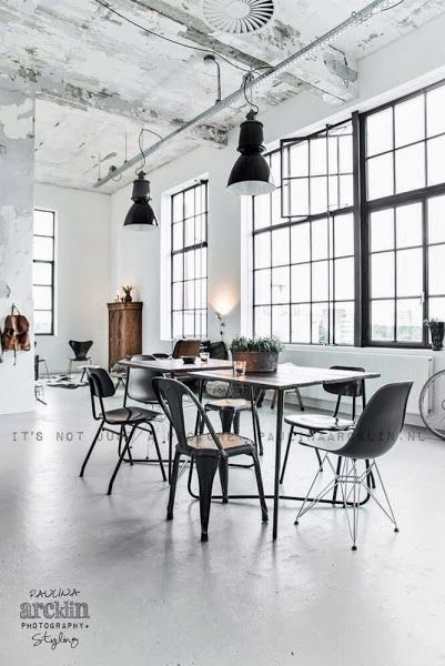 Once in a while you come across a home that you instantly fall in love with.... Starting with a sneak peek on Facebook, photographer Paulina Arcklin revealed the amazing loft of Rene Ars. Who together