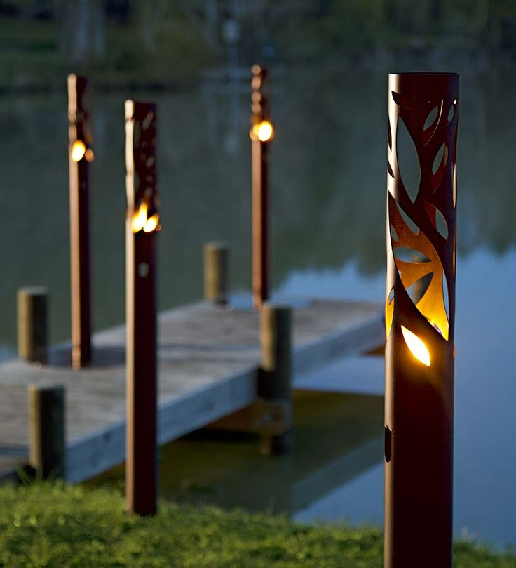 25 best ideas about landscape lighting on pinterest for Garden lighting designs