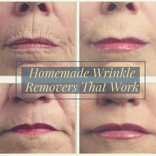 Although there are many quality wrinkle remover creams out on the market, don't be fooled into thinking that there aren't natural wrinkle treatments out there too -- because there are. As a matter of fact, you can probably create your very own homemade wrinkle removers with things found around your home.