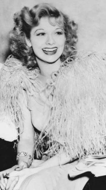 Lucille Ball, (great smile)