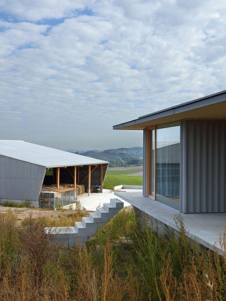 aeby aumann emery architectes | barn and dwelling g
