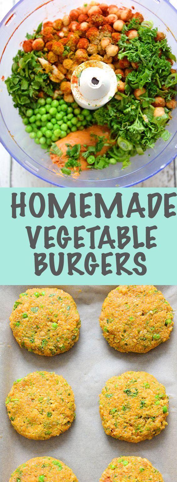 Best 25 healthy comfort food ideas on pinterest healthy sweets homemade veggie burger healthy vegan recipesvegan mealsvegetarian forumfinder Gallery