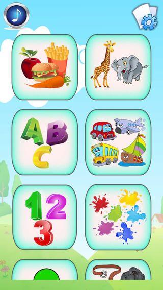 Spanish Baby Flash Cards - Kids learn to speak Español ...