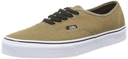 Vans Authentic, Unisex-Erwachsene Sneakers, Braun (jute/walnut/black), 38 EU - http://on-line-kaufen.de/vans/38-eu-vans-authentic-unisex-erwachsene-sneakers-56