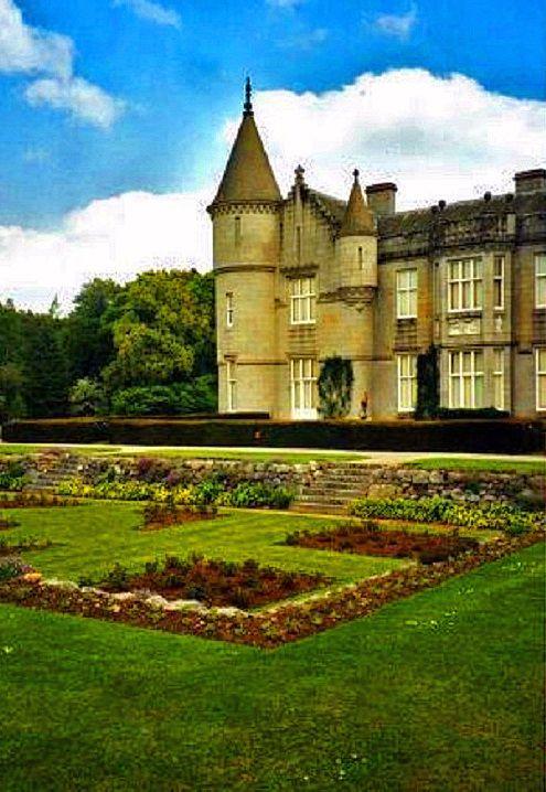 Balmoral Castle in Aberdeenshire, Scotland