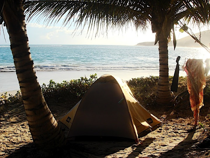 Beach Camping Puerto Rico The Best Beaches In World