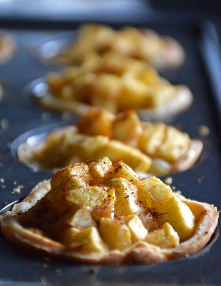 gluten free apple pie delights
