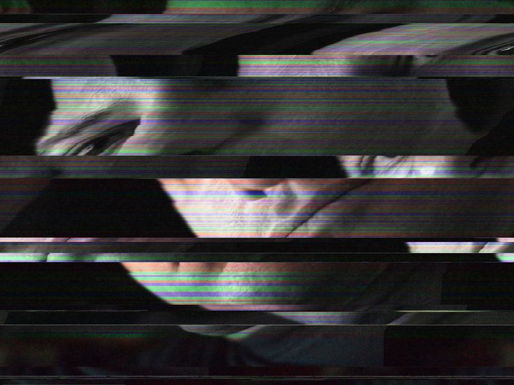 https://flic.kr/p/aqKpCu | DataBent Mike | It looks like a mistake, but it's not. This is the result of databending. Kind of like circuit bending but for images.  This one started as a picture of me that I converted to a .bmp file, opened in TextEdit on the Mac and proceeded to manually mess with the data. I even added some music data to it (that is I converted one of my mp3 files to text and added that to the picture text).