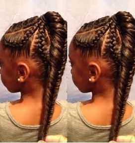 Image result for cute weave hairstyles for kids