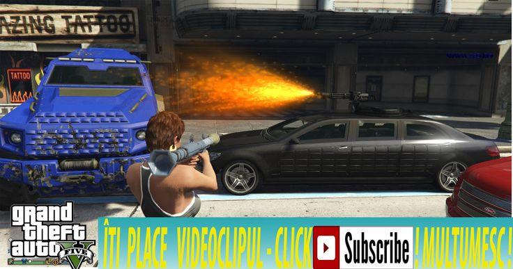 Grand Theft Auto V Gta5 :ep.14 Devastam orasul